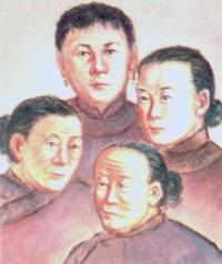 Anna An-Xing, Maria An-Guo, Anna An-Jiao og Maria An Linghua (-1900)
