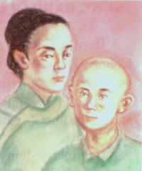 Elisabeth Qin-Bian og Simon Qin Qunfu (-1900)