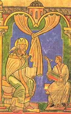 Den hellige pave Gregor I den Store (~540-604)