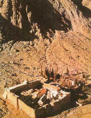 Katarinaklosteret i Sinai
