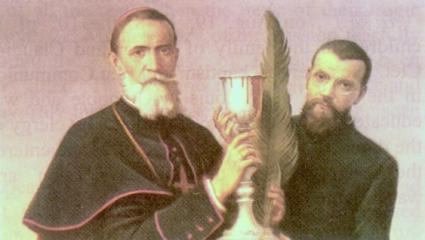 Aloisius Versiglia og Callistus Caravario (-1930)