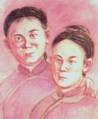 Teresa Chen Qingjieh og Rosa Chen Aijieh (-1900)