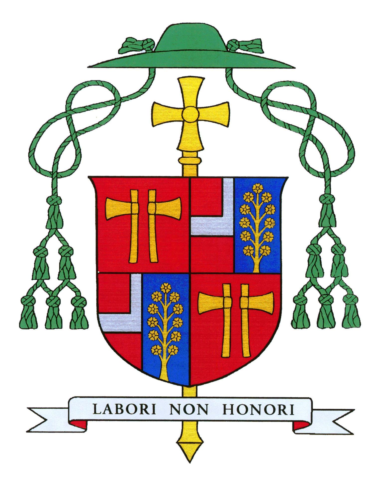 Våpenskjold for biskop Bernt Eidsvig Can.Reg. av Oslo