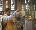 Velsignelse av Mariastatuen