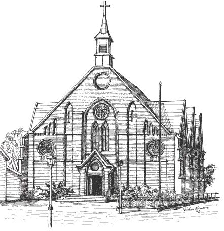 St. Peter kirke, Halden