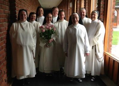 Ikledning sr. Anna-Maria av Korset OP