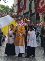 Corpus Christi-plakat Bergen