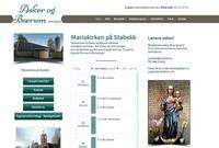 Screenshot nettside Asker og Bærum