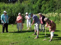 Fra Norges Eldre Katolikkers (NEK) sommerleir på Mariaholm skolesenter, juli 2015