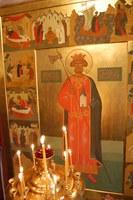 Olav den hellige, malt av Sergey Poliakov.