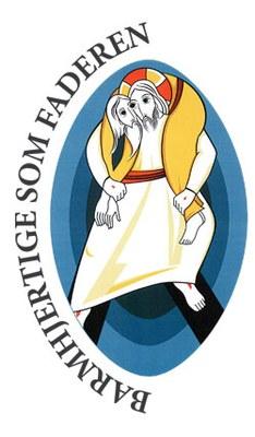 Logo for Barmhjertighetens år