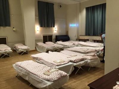 Overnatting flyktninger 1