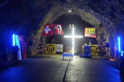 Klart for messe i Ryfast tunellen