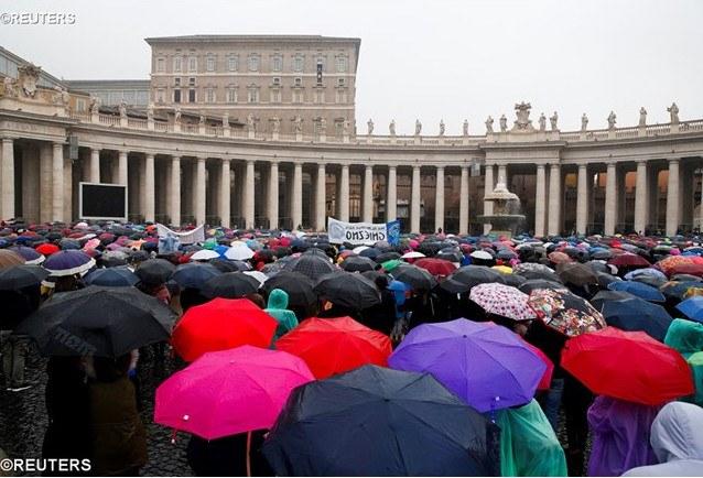 Pavens angelus første søndag i fasten.JPG