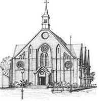 Pontifikalmesse i St. Peter kirke i Halden
