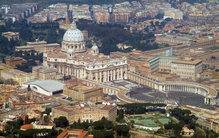 hvor bor paven