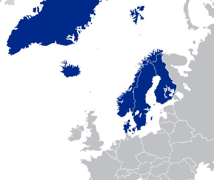 kart norden Kart Norden
