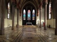 En tømt St. Olav domkirke