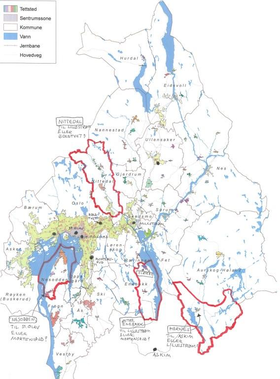 postnummer i oslo kart Menighetsdeling i Oslo området i 2013 — Den katolske kirke postnummer i oslo kart