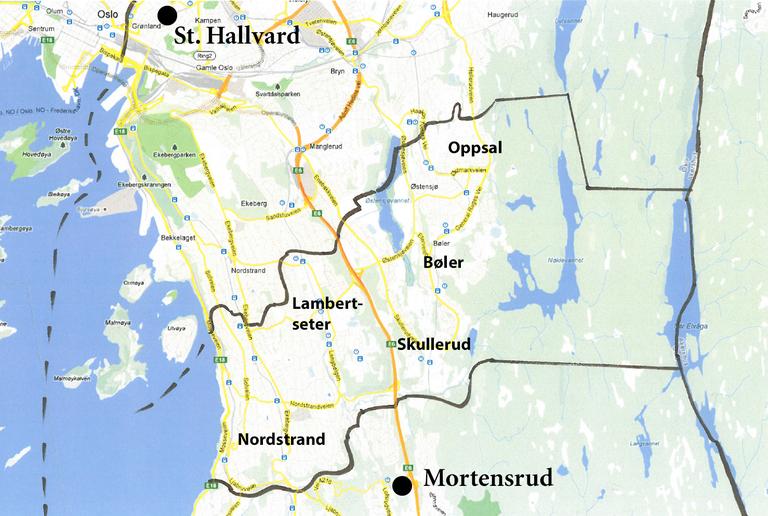 mortensrud kart Mortensrud — Den katolske kirke mortensrud kart