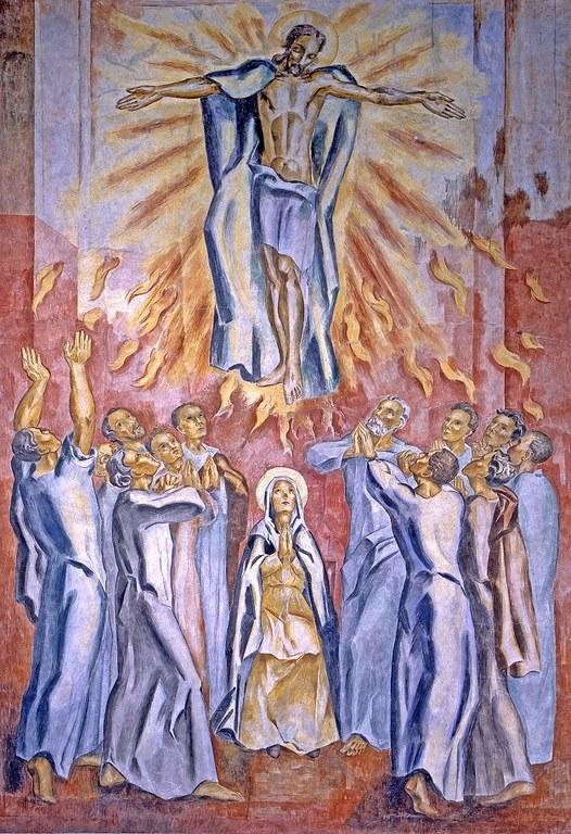 Freske i St. Dominikus Himmelfart og pinse  foto Petter Court Omtvedt.jpg