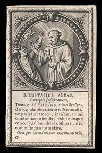 Eustasius av Luxeuil