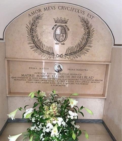 Den hellige Mor Elisabeths nye grav