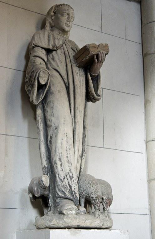 Statue av Laetus (Saint-Lié de Micy) i Ville-Dommange