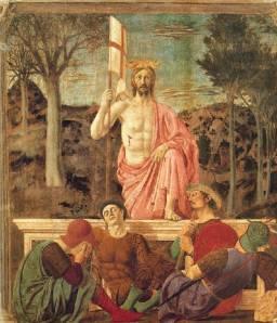 Piero della Francesca: Kristi oppstandelse, 1450-t