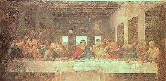 Leonardo da Vinci: Nattverden, spisesalen i dominikanerkloster i Milano
