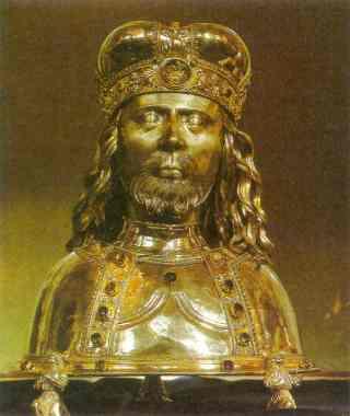 Den hellige Venceslas (~907-929)