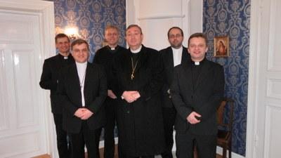 Gruppebilde picpuser i anledning kapellvelsignelse