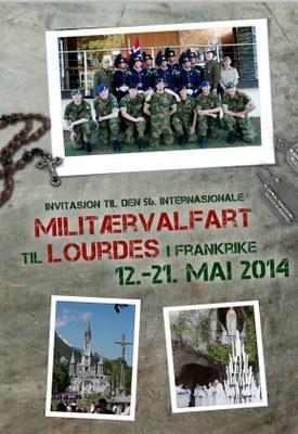 Forside folder militærvalfart 2014