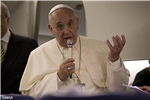 Paven på flyet