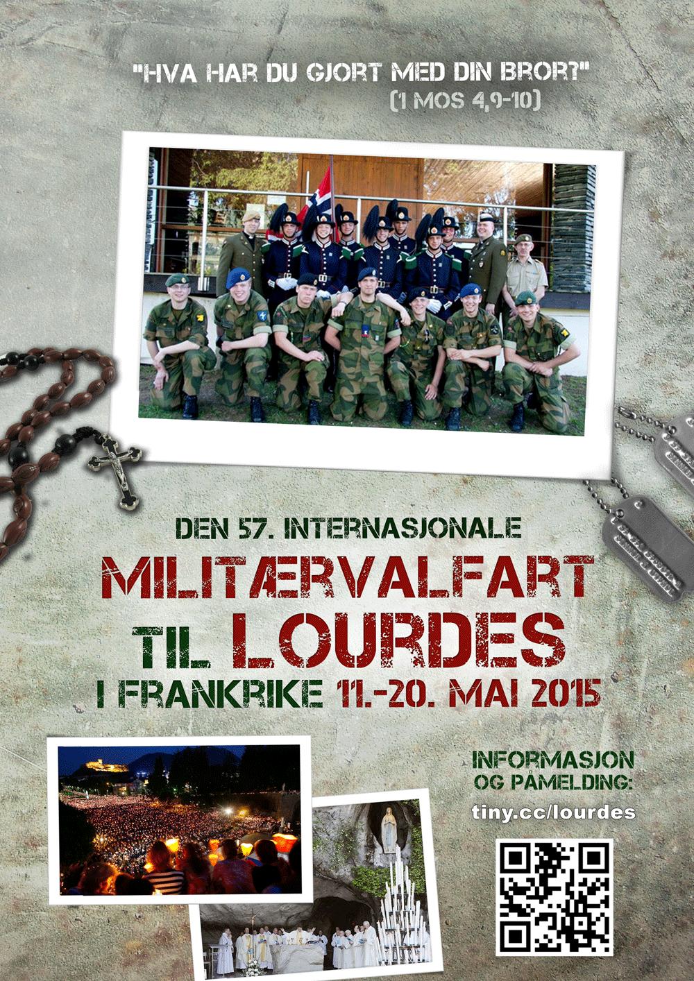 Forside folder militærvalfart 2015