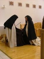 Karmelittsøster sr. Miriam av Kristus Herren feiret sølvjubileum 18. april  2015