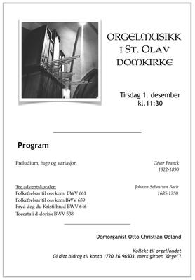 Orgelmusikk St. Olav