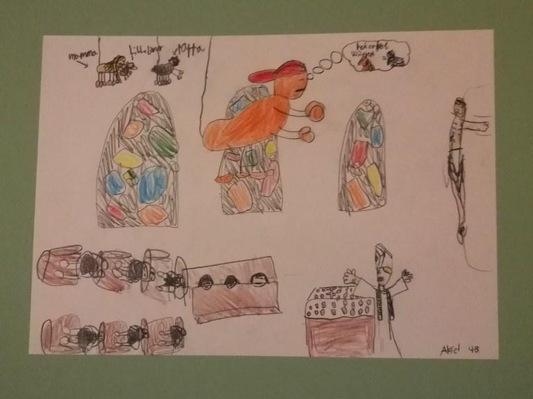 Freddy edderkopp besøker paven1 (3).jpg
