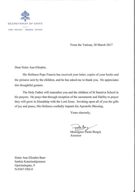Takkebrev fra vatikanet freddy edderkopp.jpg