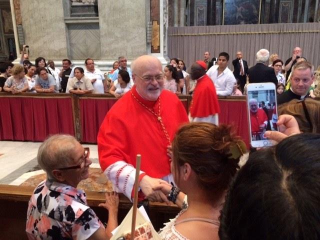 Kardinal Aborelius håndhilser.jpg