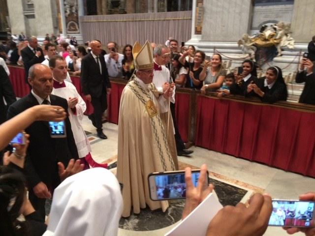 Paven ut av peterskirken.JPG
