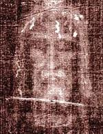 Første fotoet av likkledet