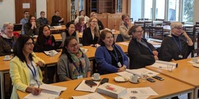 Engasjerte deltagere på samling for menighetsmedarbeidere 24. oktober 2017 i Stavanger