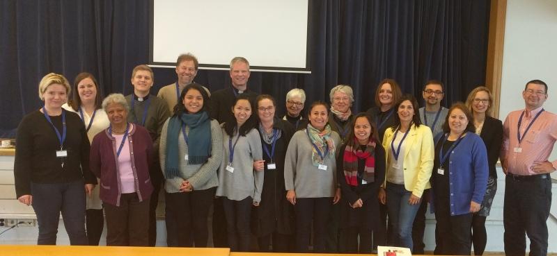 Deltagerne på samling for menighetsmedarbeidere 24. oktober 2017 i Stavanger