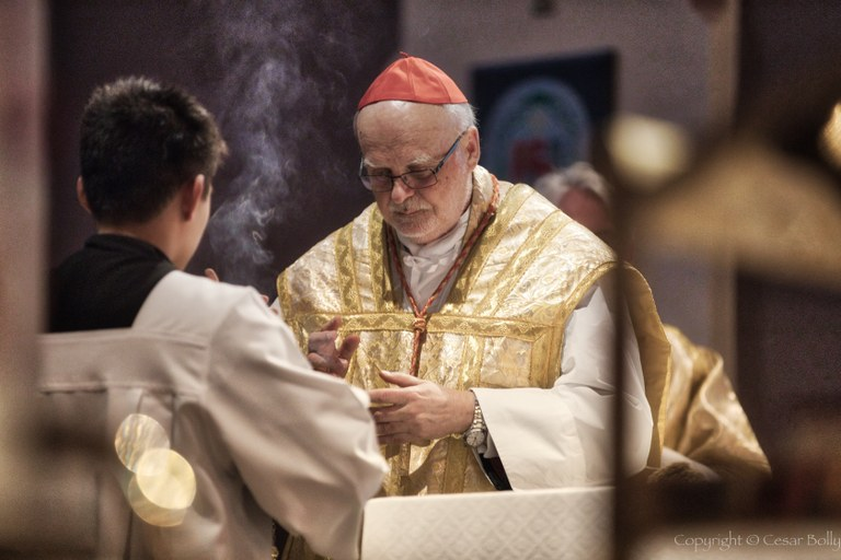 Kardinal Anders Aborelius feirer messe.jpg