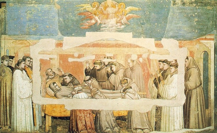 Giotto+-+Ambrogio+Bondone+-+Life+of+Saint+Francis+-+[04]+-+Death+and+Ascension+of+St+Francis+.JPG