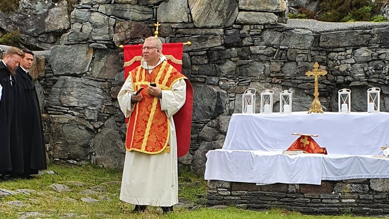 Messen preken p Haavar Hege.jpg