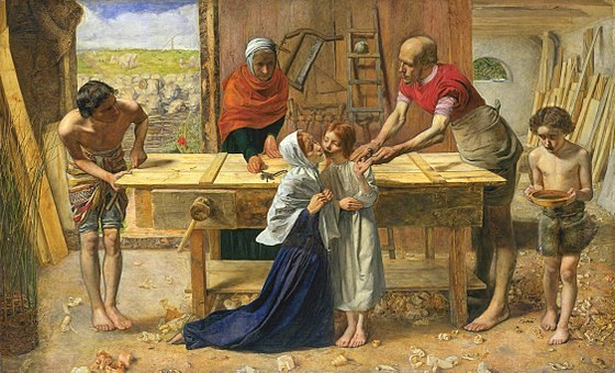 560px-John_Everett_Millais_-_Christ_in_the_House_of_His_Parents_(`The_Carpenter's_Shop')_-_Google_Art_Project.jpg