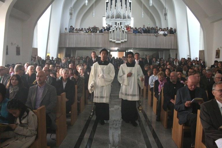 Kirkerommet incenseres