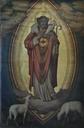 Jesus av den gode hyrde, før restaurering